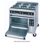"""Toastmaster TRE36D1 36"""" Electric Range with (3) Hot Top, 208v/3ph"""