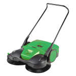 "Bissell BG-497 38"" Push-Power Deluxe Sweeper w/ (3) Brushes, Green"