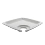 "10 Strawberry Street WTR-SQAPTZR 9"" Square Appetizer Plate - Porcelain, White"