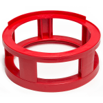"Devault Enterprises ICD-1000 16"" Keg Spacer for Full-Size Kegs - Plastic, Red"