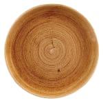"Churchill PAVCEV111 11.25"" Round Patina Plate - Ceramic, Vintage Copper"