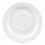"Churchill WHVSS1 5"" Profile Saucer - Ceramic, White"