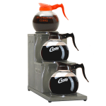 Curtis AW-3SR-10 2 Station Step-Up Coffee Pot Warmer, 120v