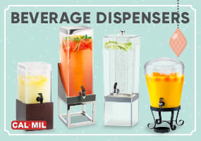 Plastic Beverage Dispenser