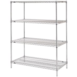 21-Inch by 36-Inch Winco Epoxy Coated Wire Shelves