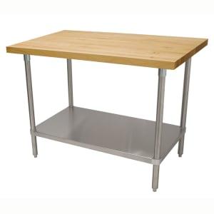 Wood Top Work Tables Katom Restaurant Supply