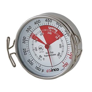 COOPER-ATKINS Oven Thermometer 200 to 1000F 2225-05-5