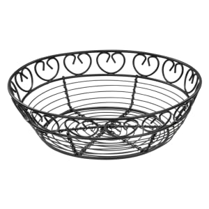 Service Ideas WBBO9PS Wire Basket Oval 9