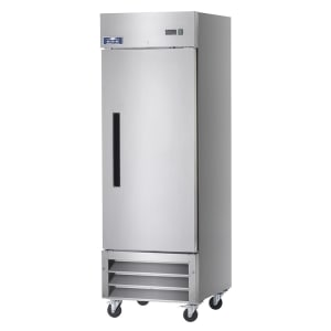 White Painted Steel Front /& Sides 25.0 Cubic Feet Capacity Arctic Air Reach in Freezer One-Section