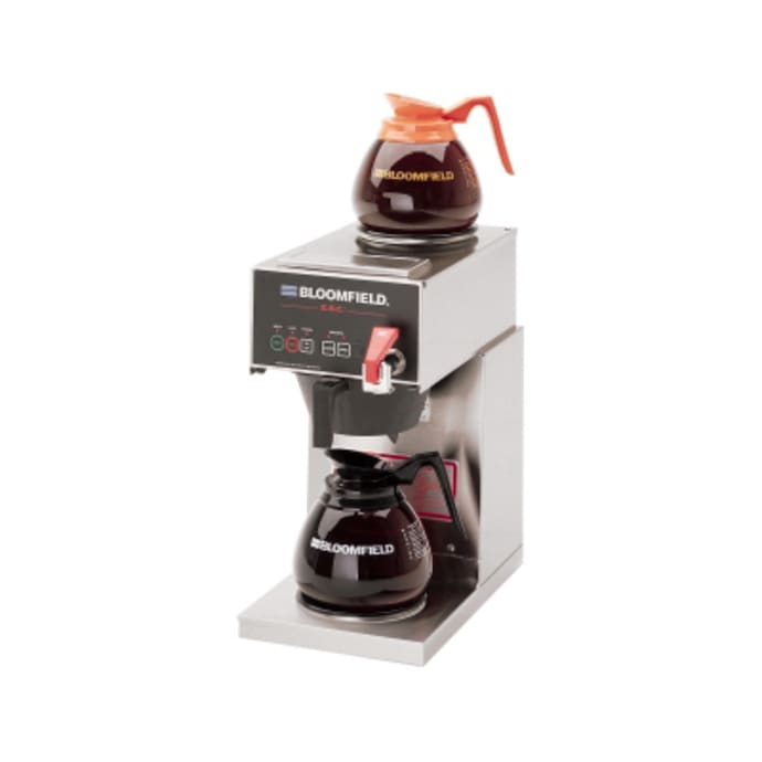 Bloomfield 1040d2f Low Volume Decanter Coffee Maker Automatic 1 2 Gal Hr 120v