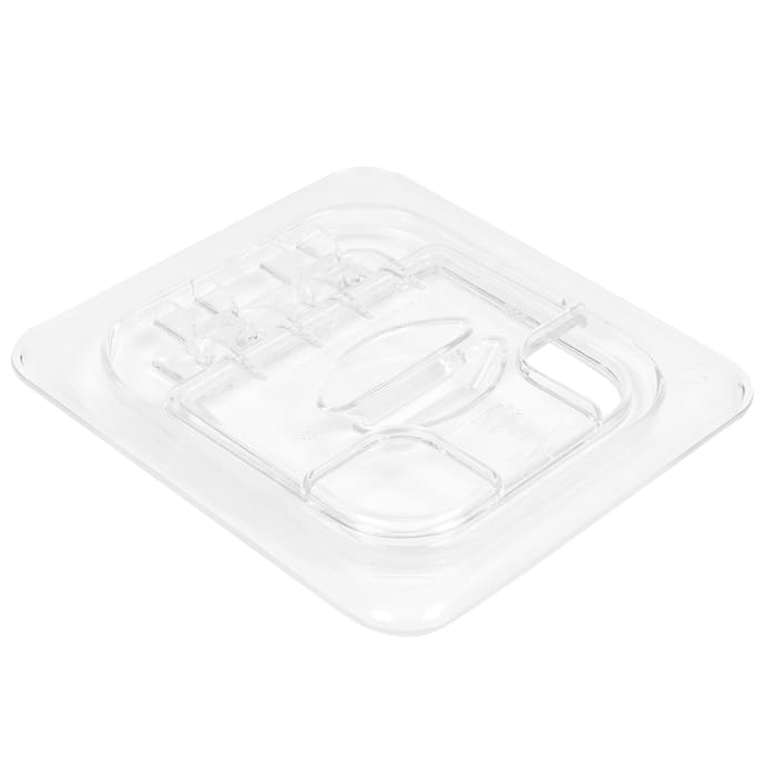Gastronorm Lids  Clear Polycarbonate  1//2 Size 6x Bain Marie Tray Lids