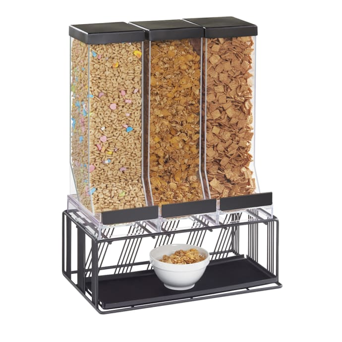 Cal Mil 4108 13 Countertop Cereal Dispenser 3 9 4 5 Liter Hoppers Wire Base