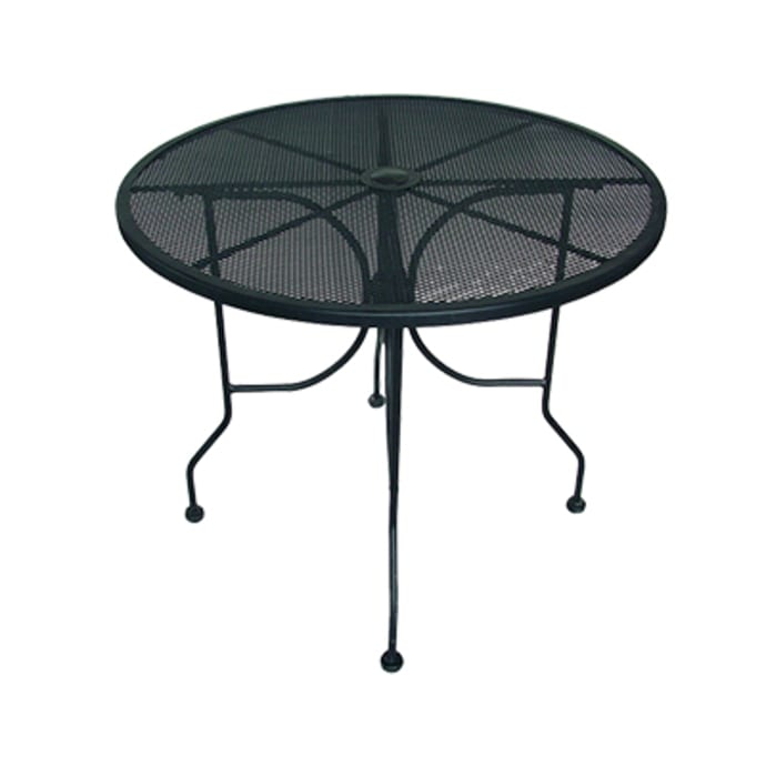 American Tables Seating Alm36 36, Round Metal Outdoor Coffee Table Canada
