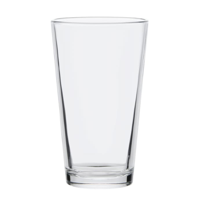 Libbey 1639ht 16 Oz Pint Glass Mixing Glass Duratuff Treated