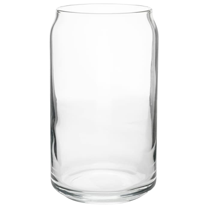 Libbey 209 16 Oz Beer Can Glass Safedge Rim