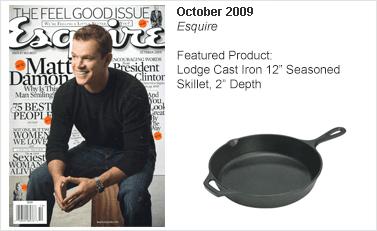 Lodge Cast Iron 12 Seasoned Skillet