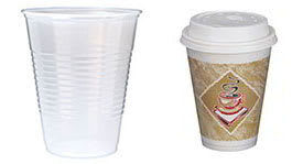 Dispsosable Cups