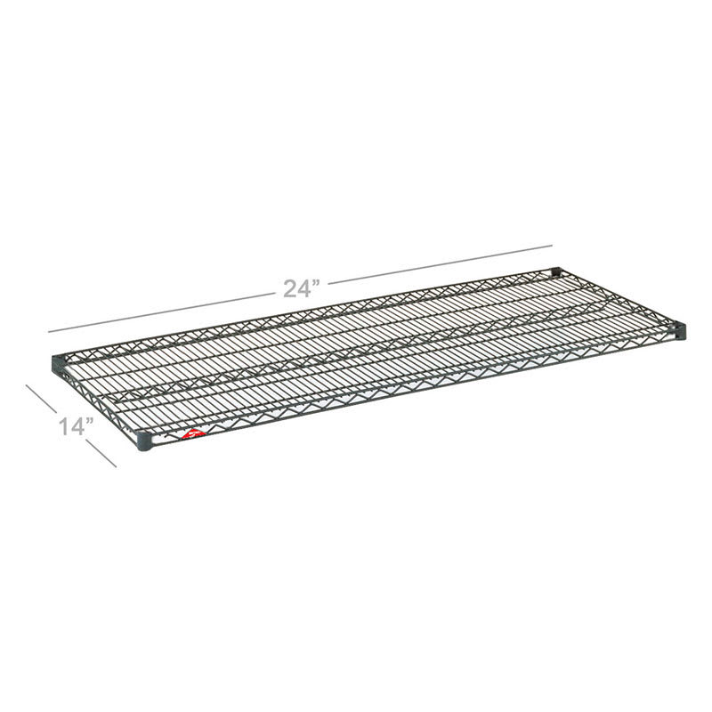 "Metro 1424NC Super Erecta® Chrome Wire Shelf - 24""W x 14""D"