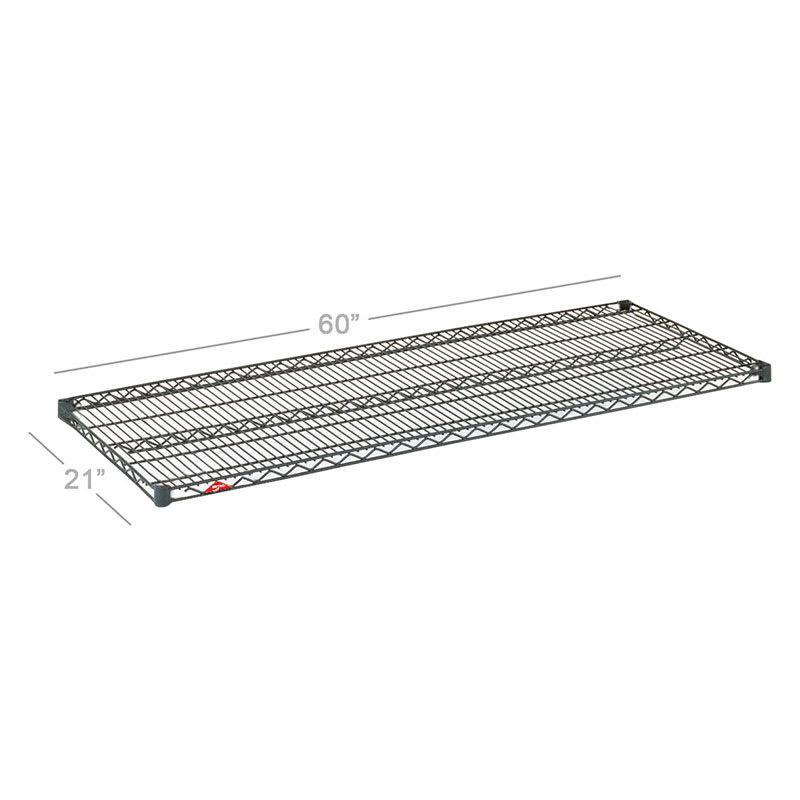 "Metro 2160NC Super Erecta® Chrome Wire Shelf - 60""W x 21""D"