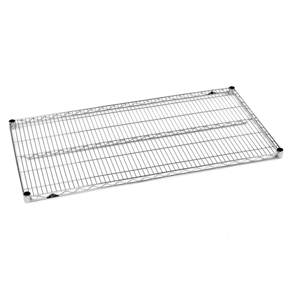 """Metro 2448BR Super Erecta® Brite Zinc Wire Shelf - 48"""" x 24"""""""