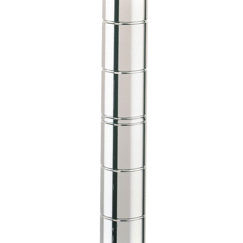 "Metro 54UPS 53.81"" Super Erecta® Shelving Post w/ 2"" Number Increments, Stainless Steel"