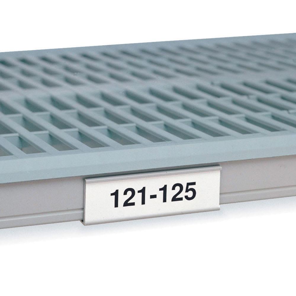 "Metro 9989X5 MetroMax i® Label Holder - 35.28"" x 1"", Plastic"