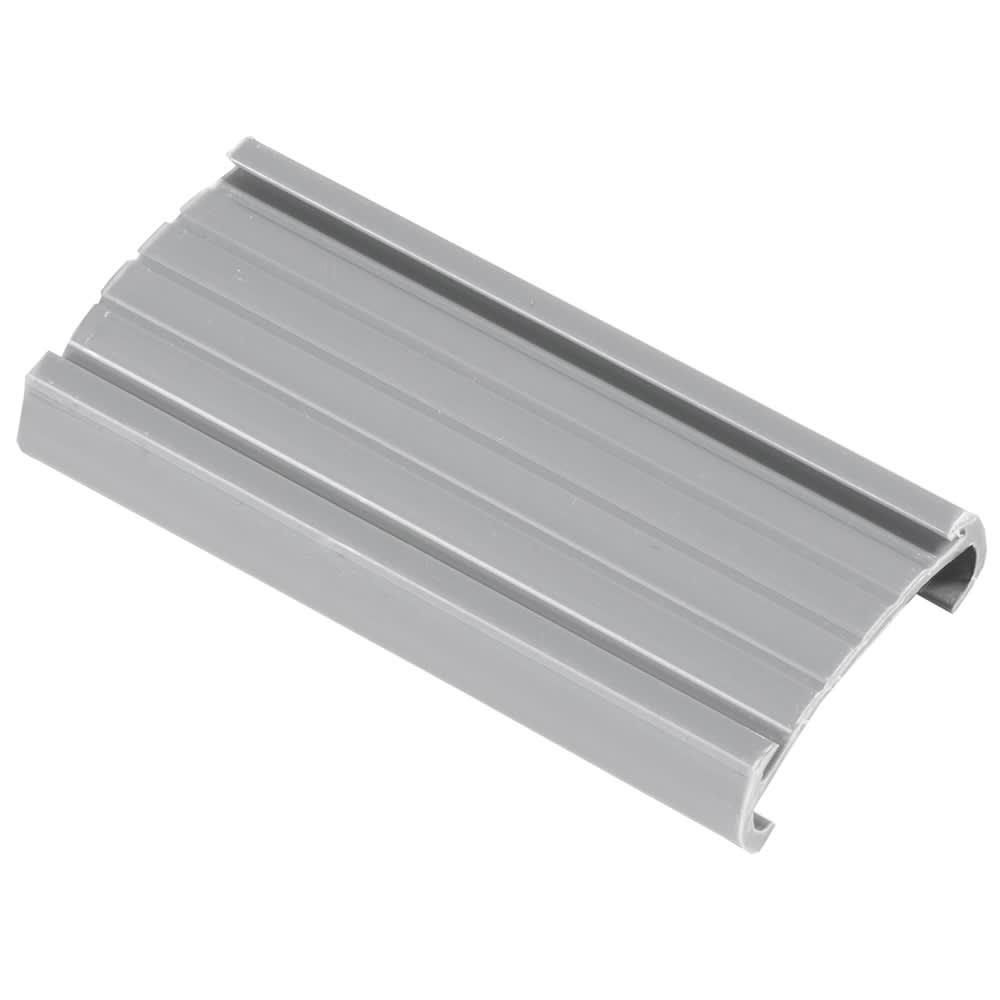 "Metro 9990P Super Erecta® Label Holder - 3"" x 1.25"", Snap-On, Gray"