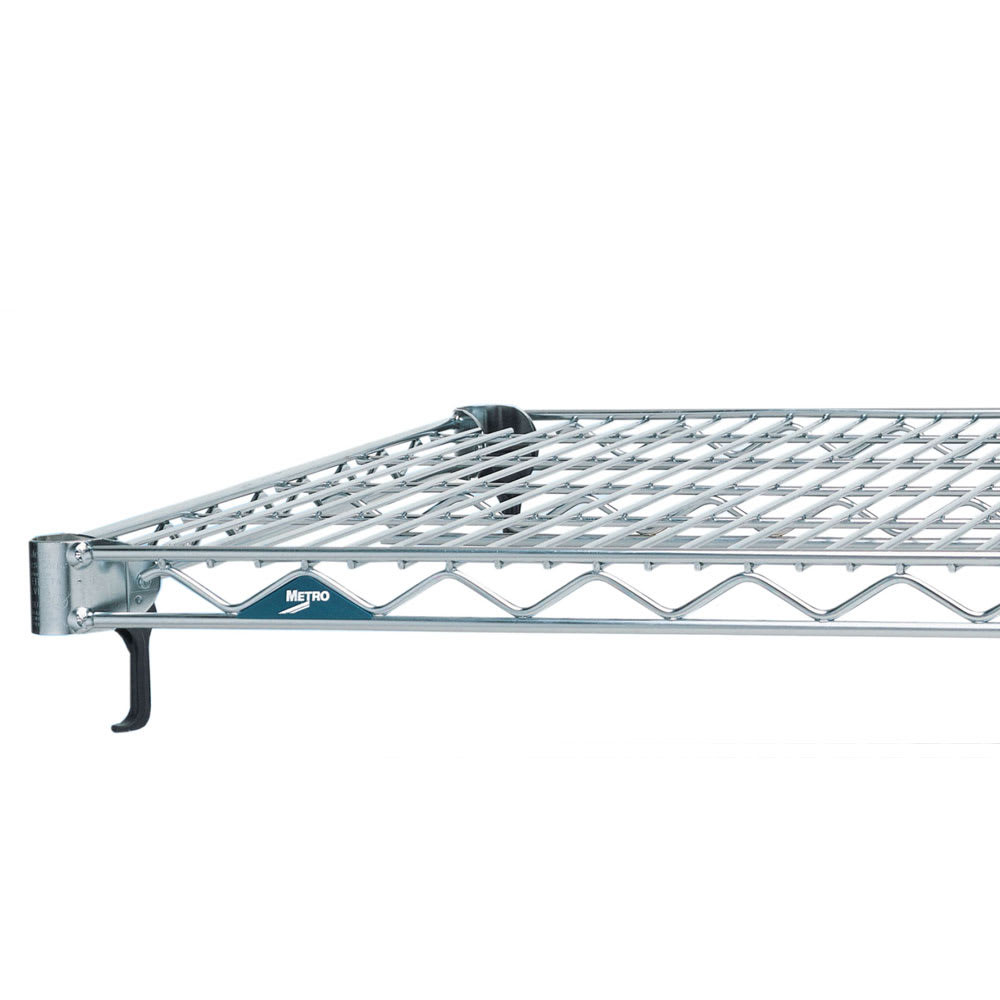 "Metro A2448NS Super Erecta® Stainless Steel Wire Shelf - 48""W x 24""D"