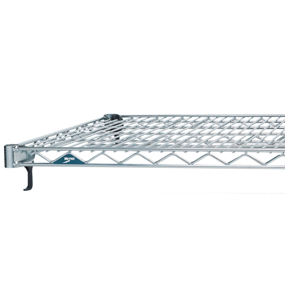 "Metro A2460NC Super Erecta® Chrome Wire Shelf - 60""W x 24""D"