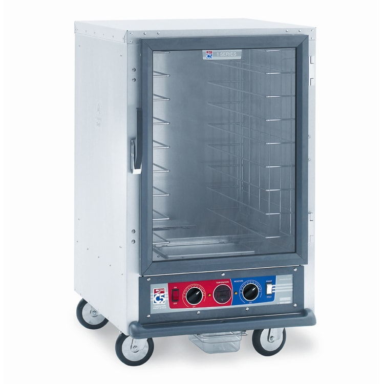 Metro C515-CFC-4 1/2 Height Non-Insulated Mobile Heated Cabinet w/ (8) Pan Capacity, 120v