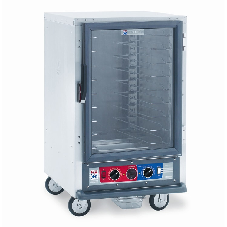 Metro C515-CFC-U 1/2-Height Mobile Heated Cabinet w/ (8) Pan Capacity, 120v