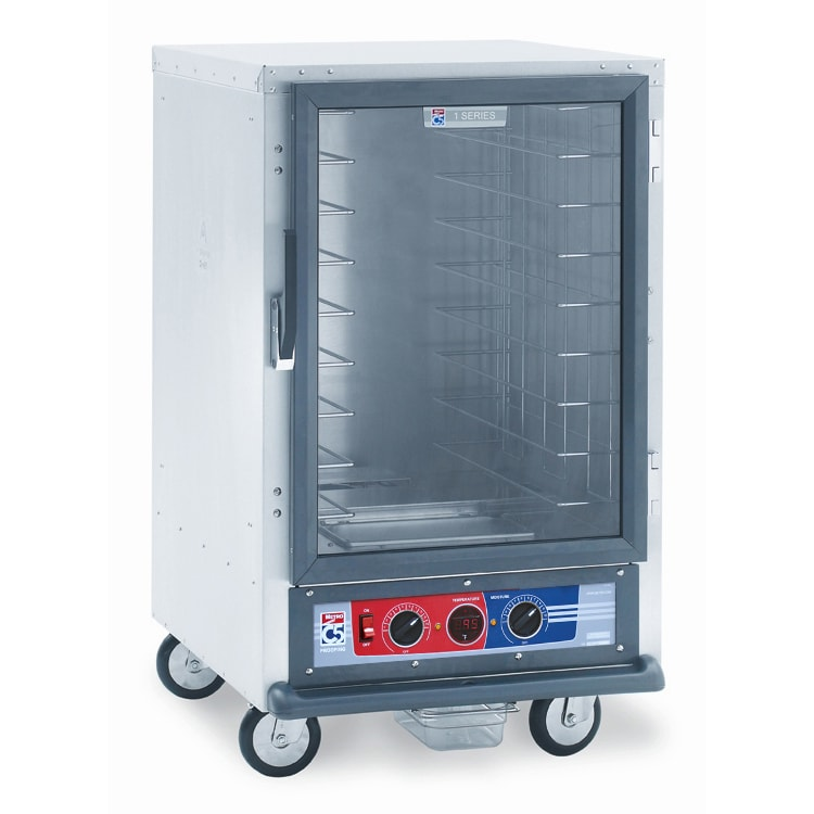Metro C515-PFC-4 1/2-Height Mobile Heated Cabinet w/ (8) Pan Capacity, 120v