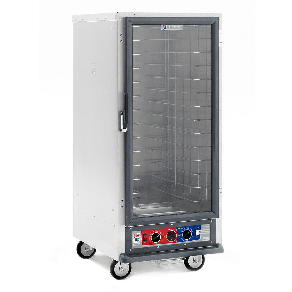 Metro C517-CFC-4 3/4-Height Non-Insulated Mobile Heated Cabinet w/ (14) Pan Capacity, 120v