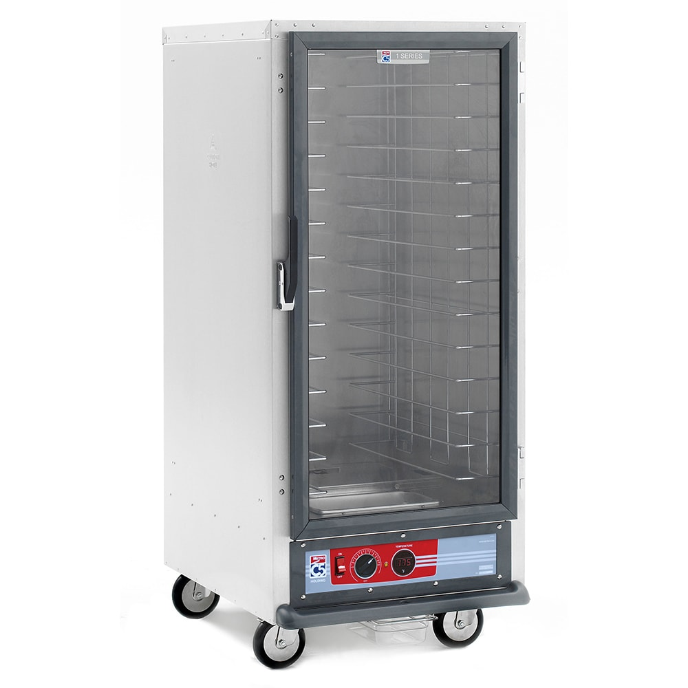 Metro C517-HFC-4 3/4-Height Mobile Heated Cabinet w/ (14) Pan Capacity, 120v