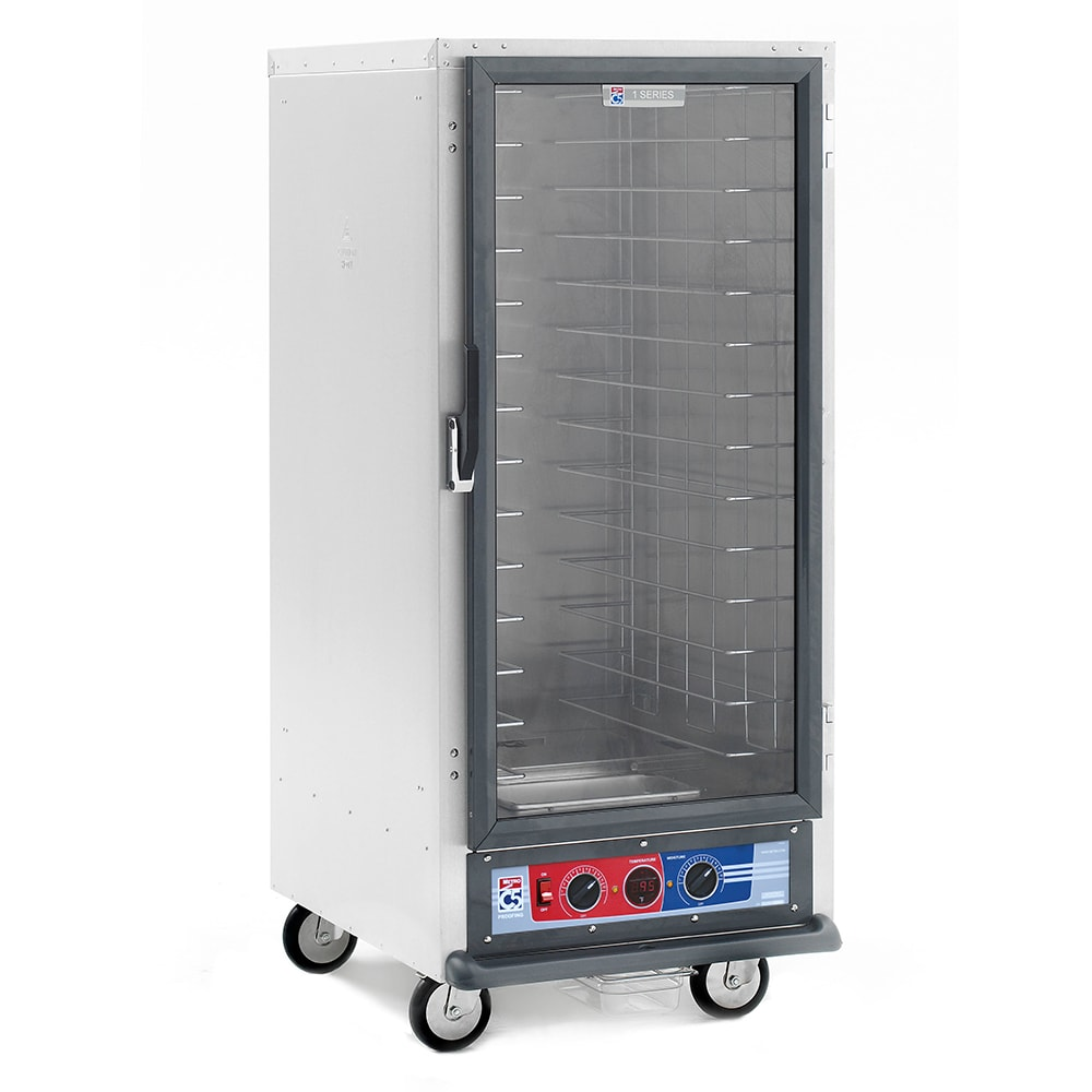 Metro C517-PFC-4 3/4-Height Non-Insulated Mobile Heated Cabinet w/ (14) Pan Capacity, 120v