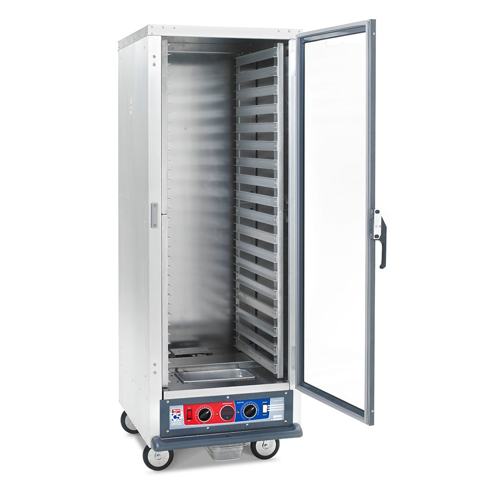Metro C519-CFC-L Full Height Mobile Heated Cabinet w/ (35) Pan Capacity, 120v