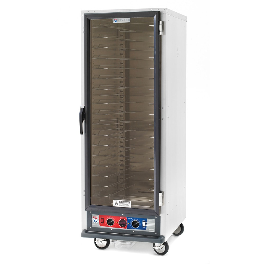 Metro C519-CFC-U Full Height Non-Insulated Mobile Heated Cabinet w/ (18) Pan Capacity, 120v
