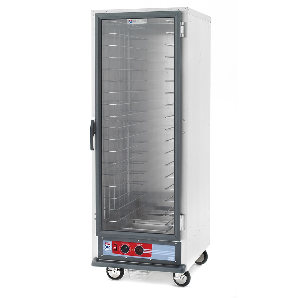 Metro C519-HFC-4 Full Height Non-Insulated Mobile Heated Cabinet w/ (18) Pan Capacity, 120v