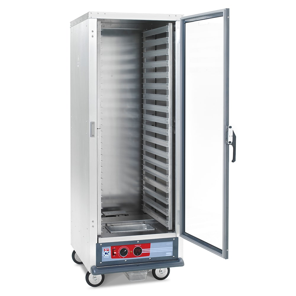 Metro C519-HFC-L Full Height Non-Insulated Mobile Heated Cabinet w/ (35) Pan Capacity, 120v