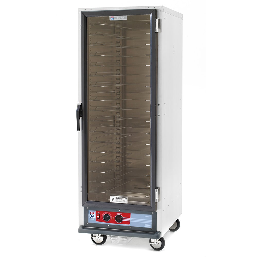 Metro C519-HFC-U Full Height Mobile Heated Cabinet w/ (18) Pan Capacity, 120v