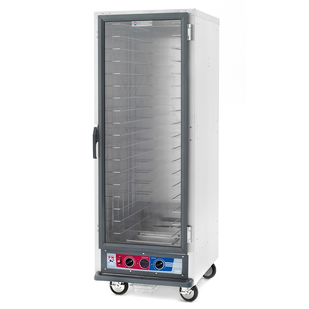 Metro C519-PFC-4 Full Height Mobile Heated Cabinet w/ (18) Pan Capacity, 120v