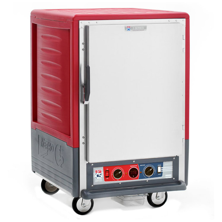 Metro C535-CFS-4 1/2-Height Mobile Heated Cabinet w/ (8) Pan Capacity, 120v