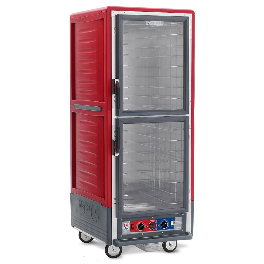 Metro C539-CDC-4 Full Height Insulated Mobile Heated Cabinet w/ (18) Pan Capacity, 120v