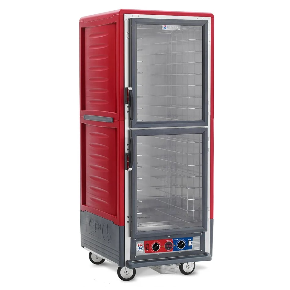 Metro C539-CDC-L Full Height Insulated Mobile Heated Cabinet w/ (35) Pan Capacity, 120v