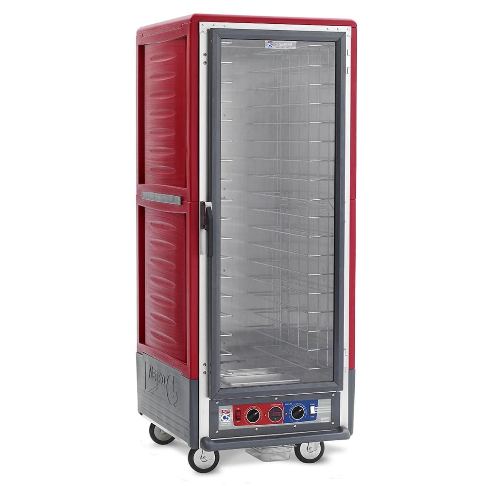Metro C539-CFC-4 Full Height Insulated Mobile Heated Cabinet w/ (18) Pan Capacity, 120v