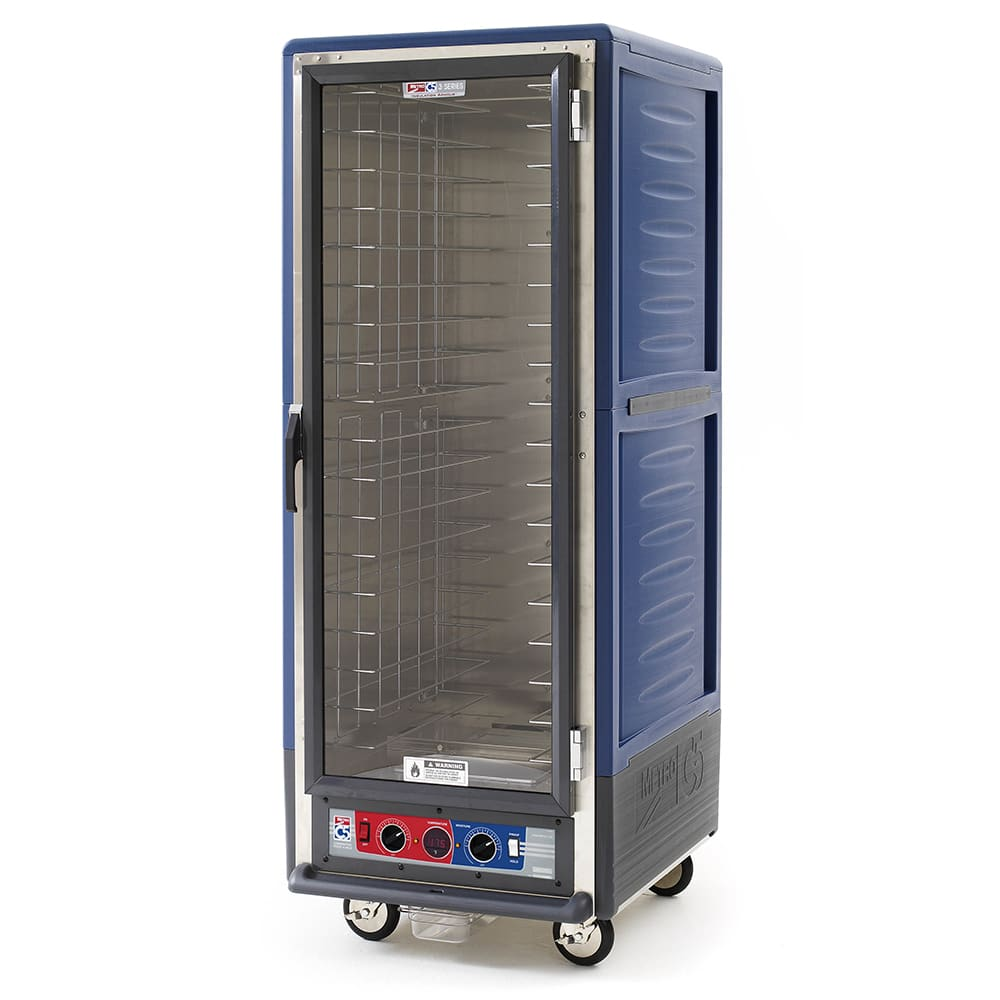 Metro C539-CFC-4-BU Full Height Insulated Mobile Heated Cabinet w/ (18) Pan Capacity, 120v
