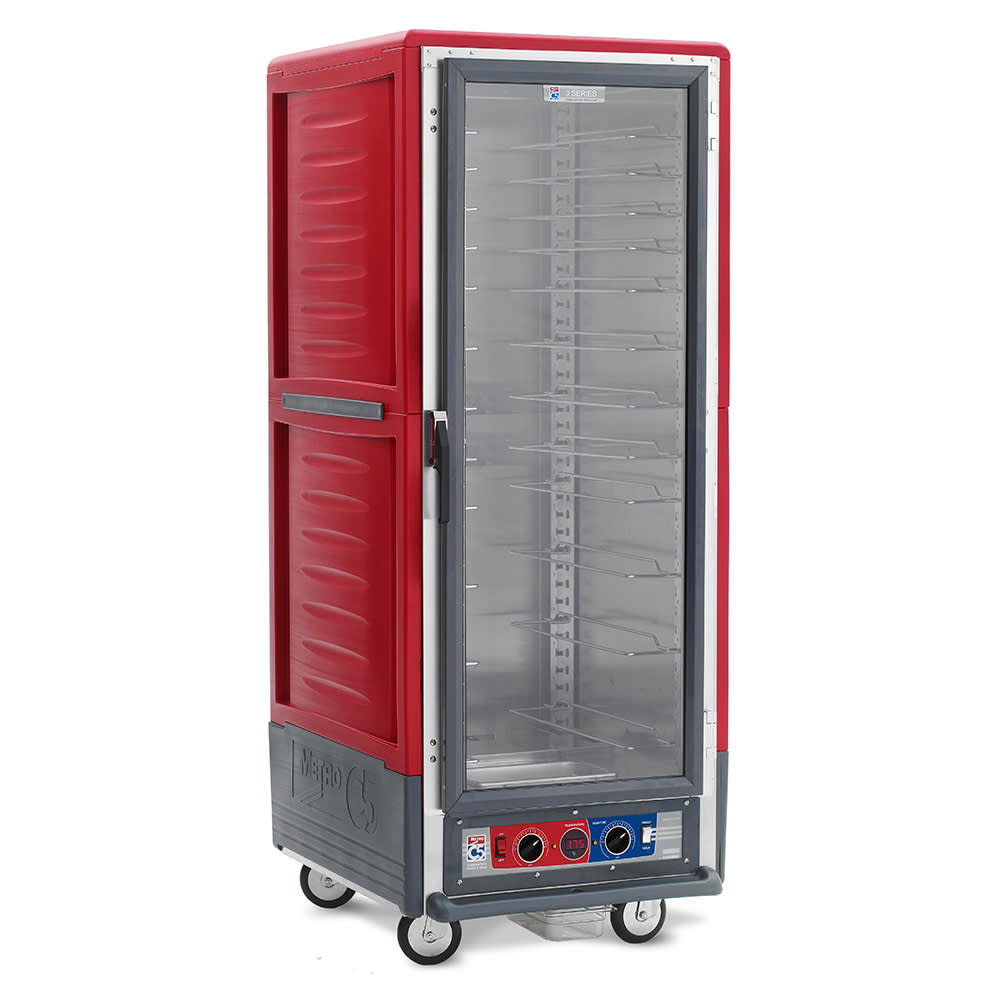 Metro C539-CFC-U Full Height Mobile Heated Cabinet w/ (18) Pan Capacity, 120v