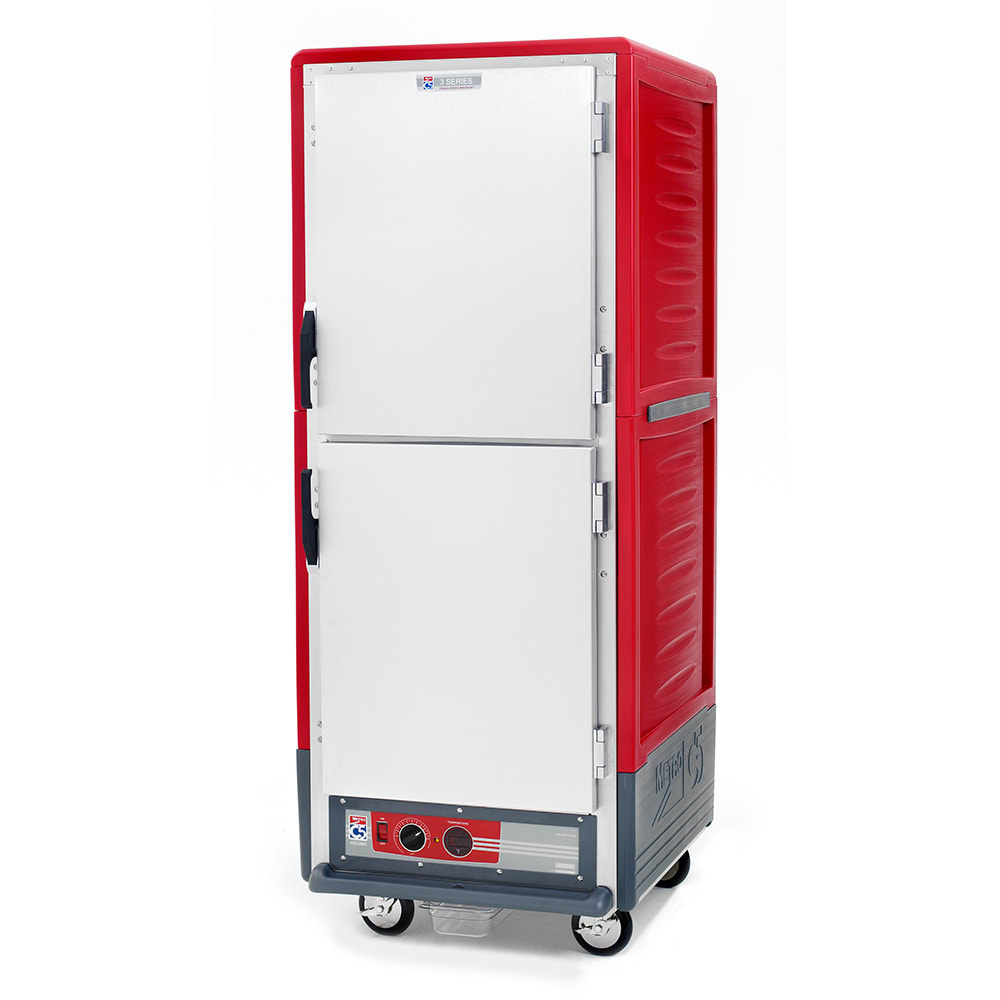Metro C539-HDS-L Full Height Insulated Mobile Heated Cabinet w/ (34) Pan Capacity, 120v