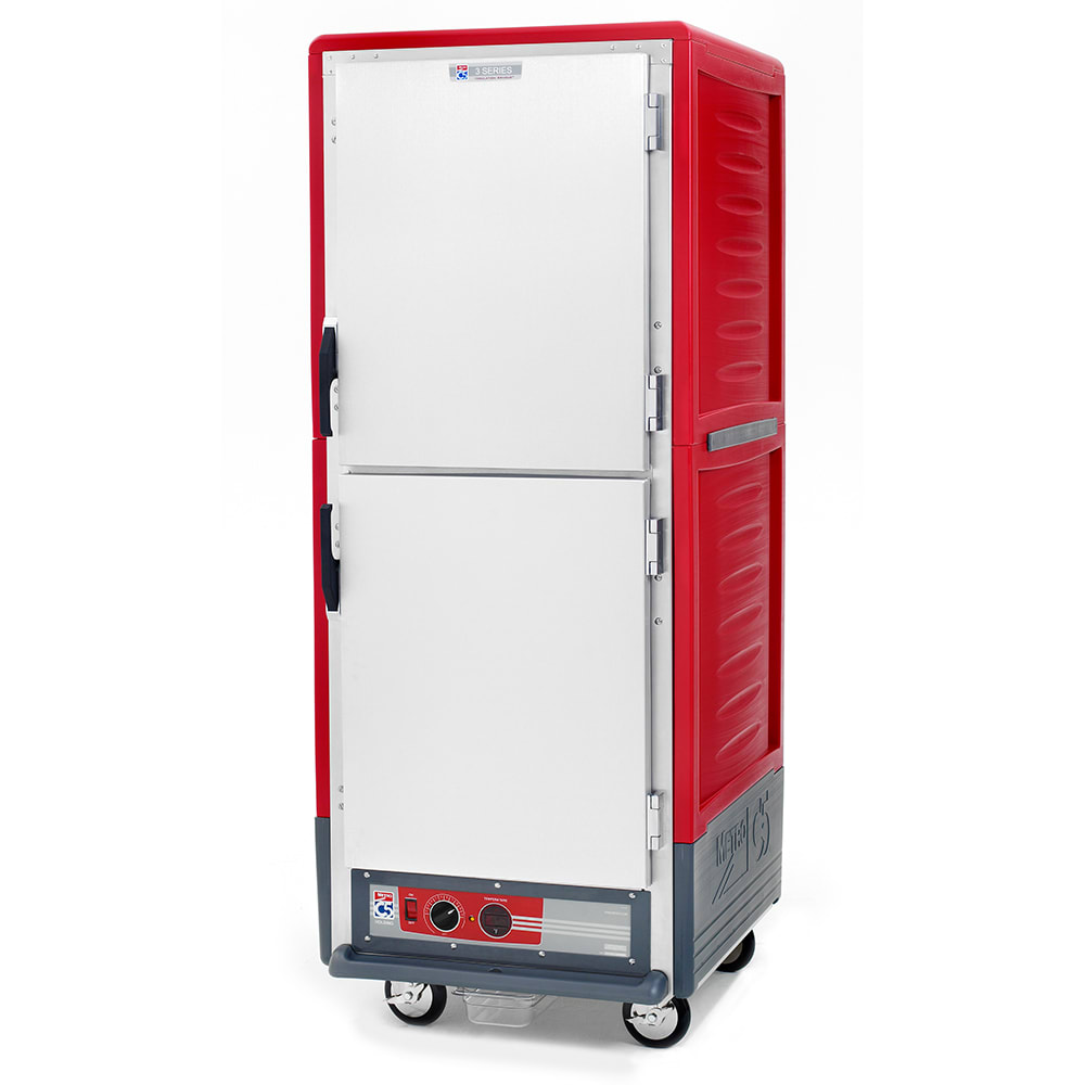 Metro C539-HDS-U Full Height Insulated Mobile Heated Cabinet w/ (17) Pan Capacity, 120v