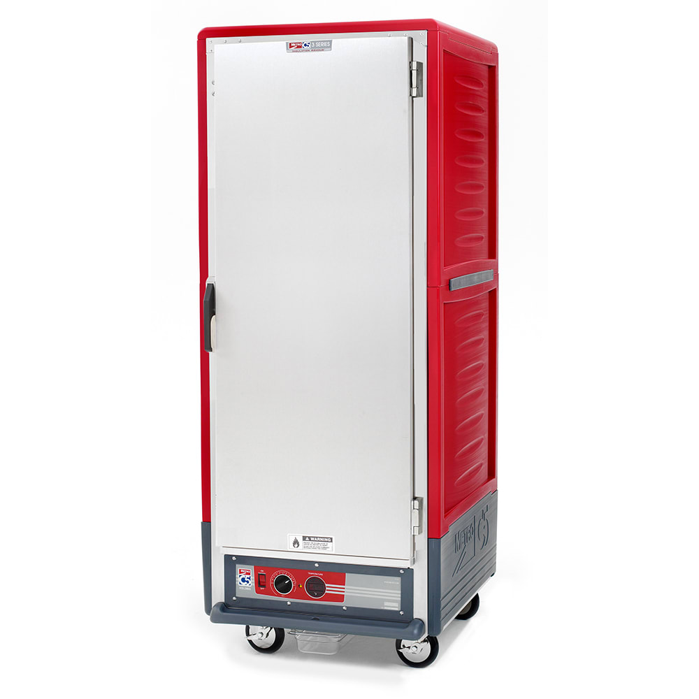 Metro C539-HFS-4 Full Height Insulated Mobile Heated Cabinet w/ (18) Pan Capacity, 120v